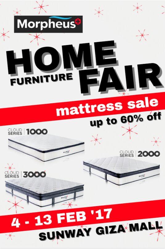 Home Furniture Fair 4 February 2017 13 February 2017 Sunway Giza Mall