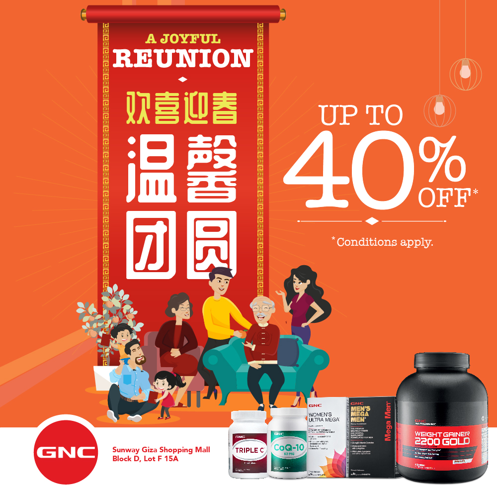 f939788ce00 Happy Chinese New Year & Happy Valentines Day 2019 from GNC LiveWell  Malaysia